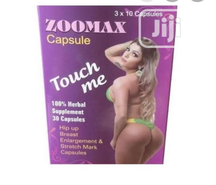 Zoomax Caps For Hips And Breast Enlargement | Sexual Wellness for sale in Wuse, Abuja (FCT) State, Nigeria