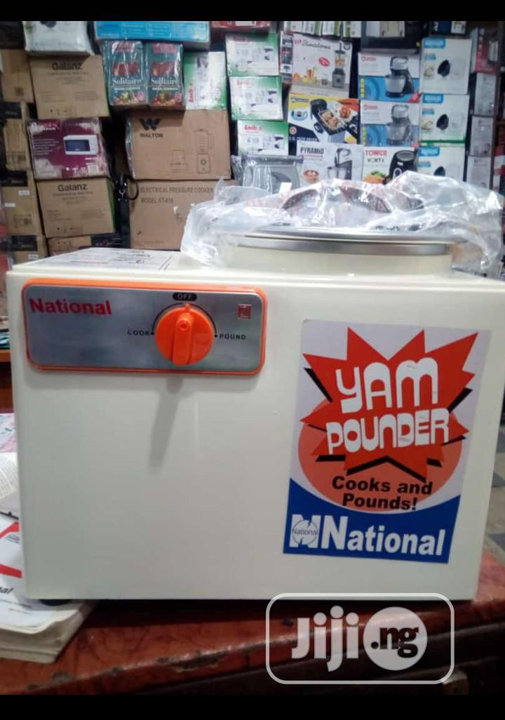 National Yam Pounder Quality Pounder Test And See