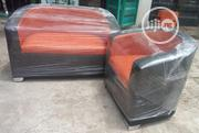 Unique 3 Seater Leather Bucket Sofa Chair Brand New | Furniture for sale in Lagos State, Badagry