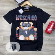 Moschino Round Neck T-Shirt | Clothing for sale in Lagos State, Lagos Island