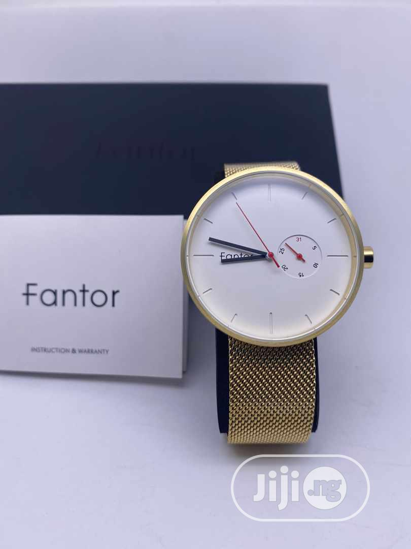 Fantor Gold Chain Watch   Watches for sale in Magodo, Lagos State, Nigeria