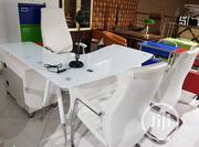 Quality Glass-top Executive Office Table | Furniture for sale in Lagos State, Lekki Phase 1