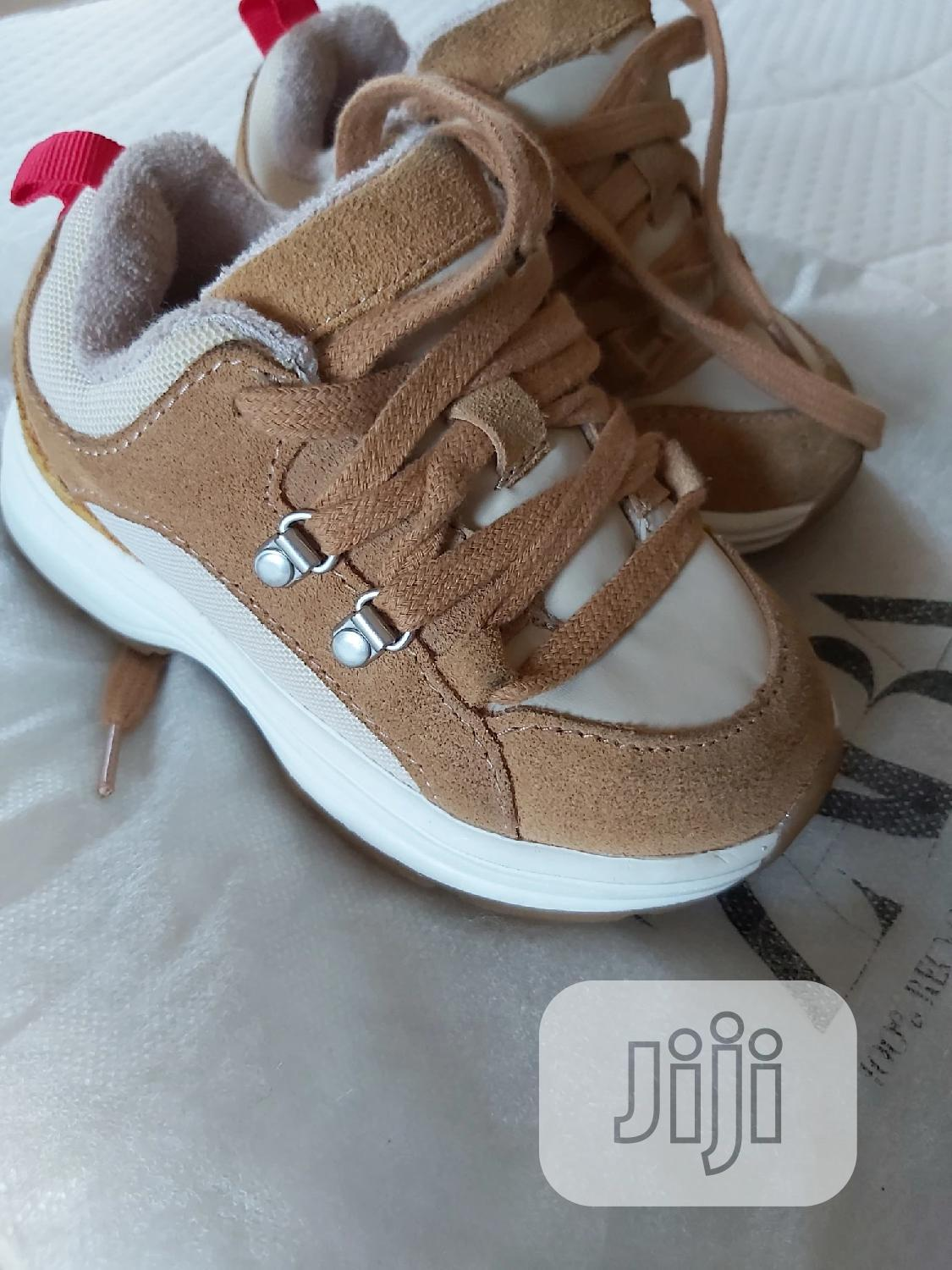 High Quality Zara Leather Mix Sneakers