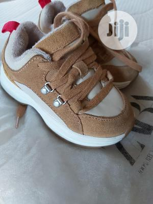 High Quality Zara Leather Mix Sneakers | Children's Shoes for sale in Lagos State, Ikeja