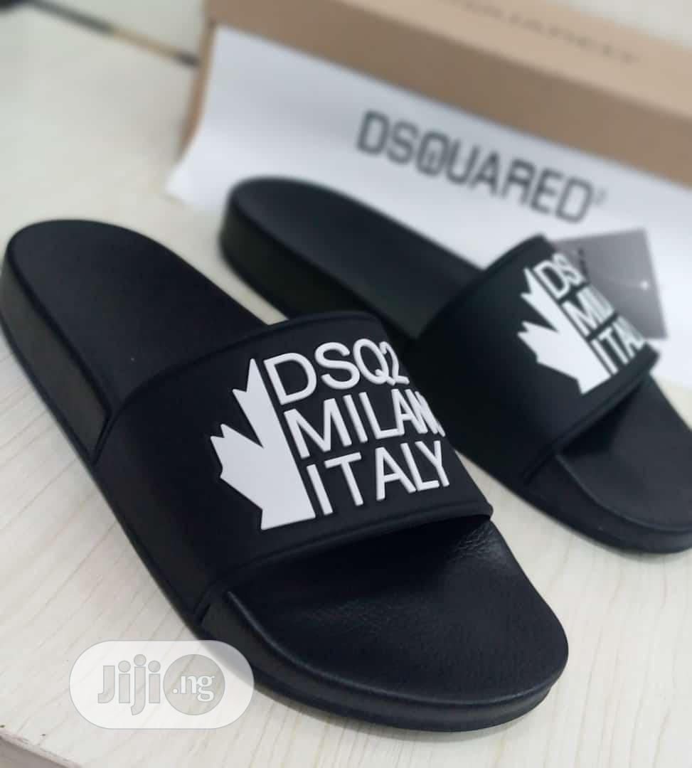 Original Quality and Beautiful Men Designers Slippers | Shoes for sale in Surulere, Lagos State, Nigeria