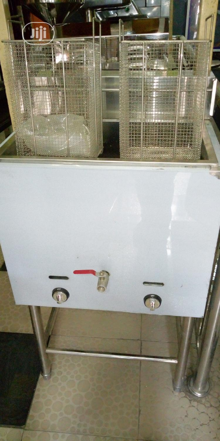 Archive: 20 Liters Standing Stainless Steel Gas Fryer