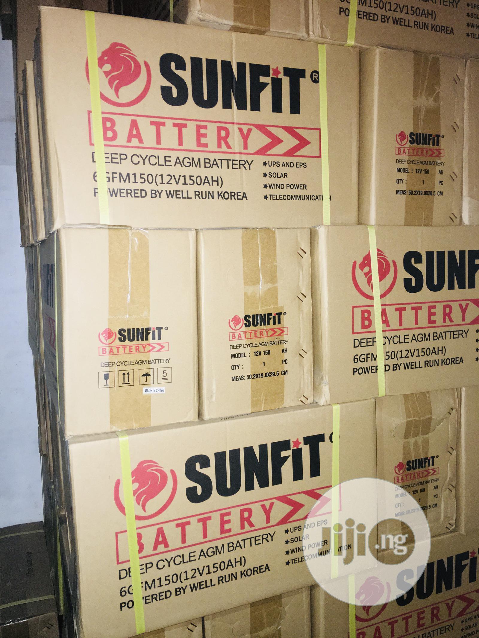 Archive: 150ah 12v Sunfit Battery