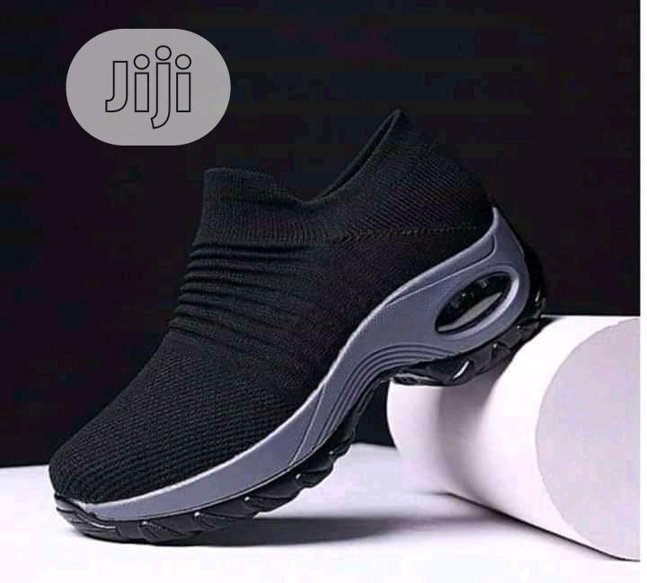 Black Female Sneakers for Ladies in