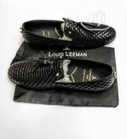 Check Out This Black Leather Louis Leeman's Design Made for You. | Shoes for sale in Lagos State, Lagos Island