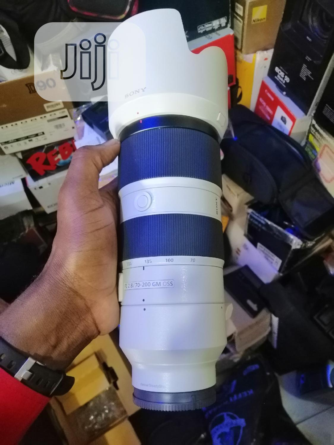 Sony FE 70-200mm F/2.8 GM OSS Lens | Accessories & Supplies for Electronics for sale in Ikeja, Lagos State, Nigeria