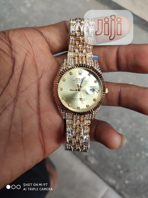 Archive: Rolex Stone Watch (Gold Watch)