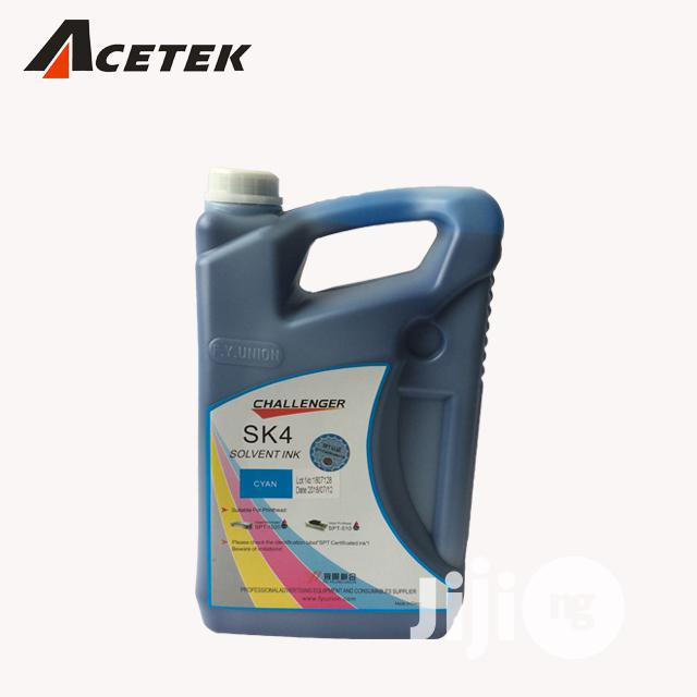 Infiniti Challenger Sk4 Eco Solvent Ink | Printing Equipment for sale in Ikeja, Lagos State, Nigeria