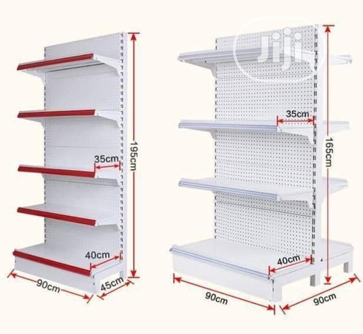 Brand New Single Supermarket Shelf
