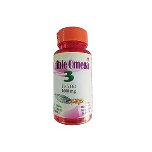 Edible Herbs Omega 3 Fish Oil for Powerful Brain Booster   Vitamins & Supplements for sale in Lagos State, Agege