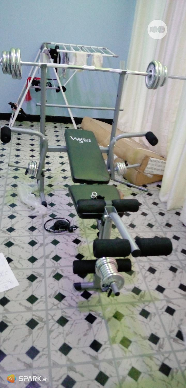 Weight Bench Exercise