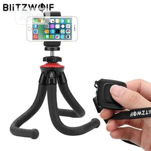 Blitzwolf Bluetooth Flexible Tripod Stand For Phone   Accessories & Supplies for Electronics for sale in Lagos State, Ikeja