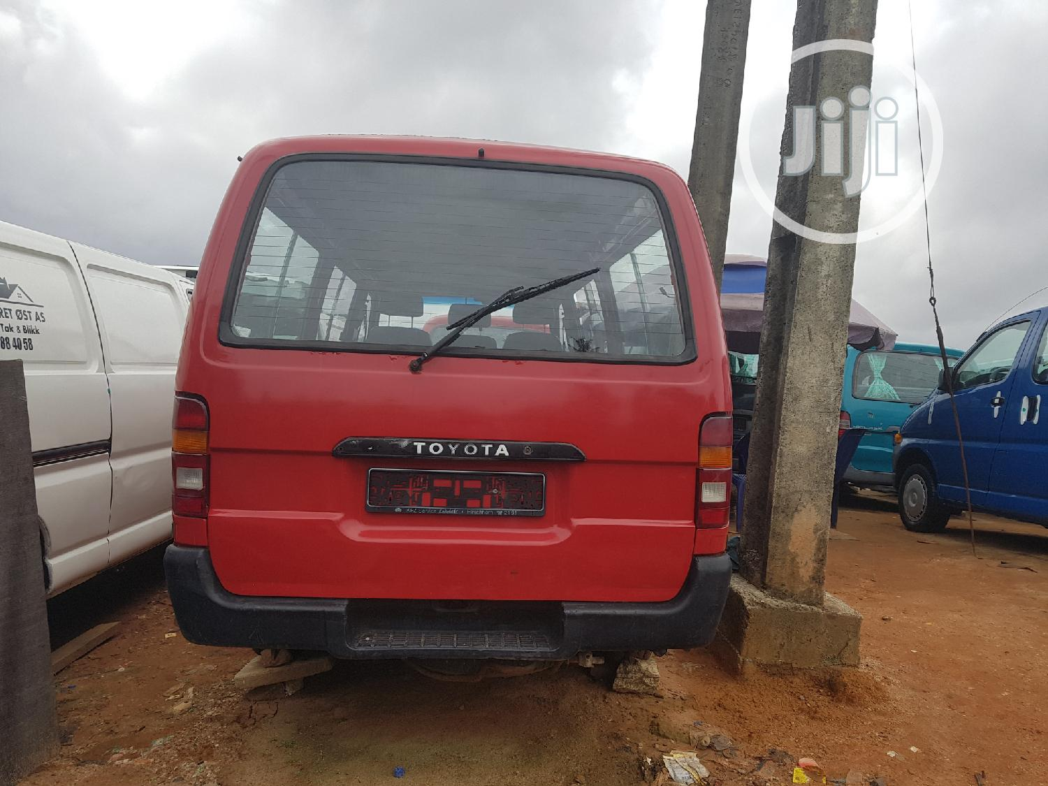 Toyota Hiace 1999 Red | Buses & Microbuses for sale in Apapa, Lagos State, Nigeria