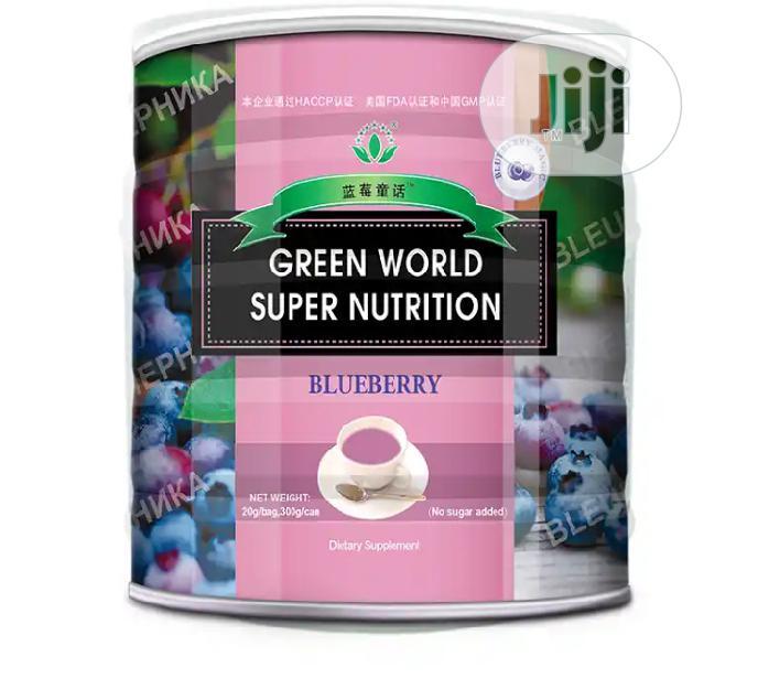 Archive: Green World Blueberry Super Nutrution