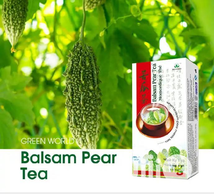 Green World Basalm Pear Tea