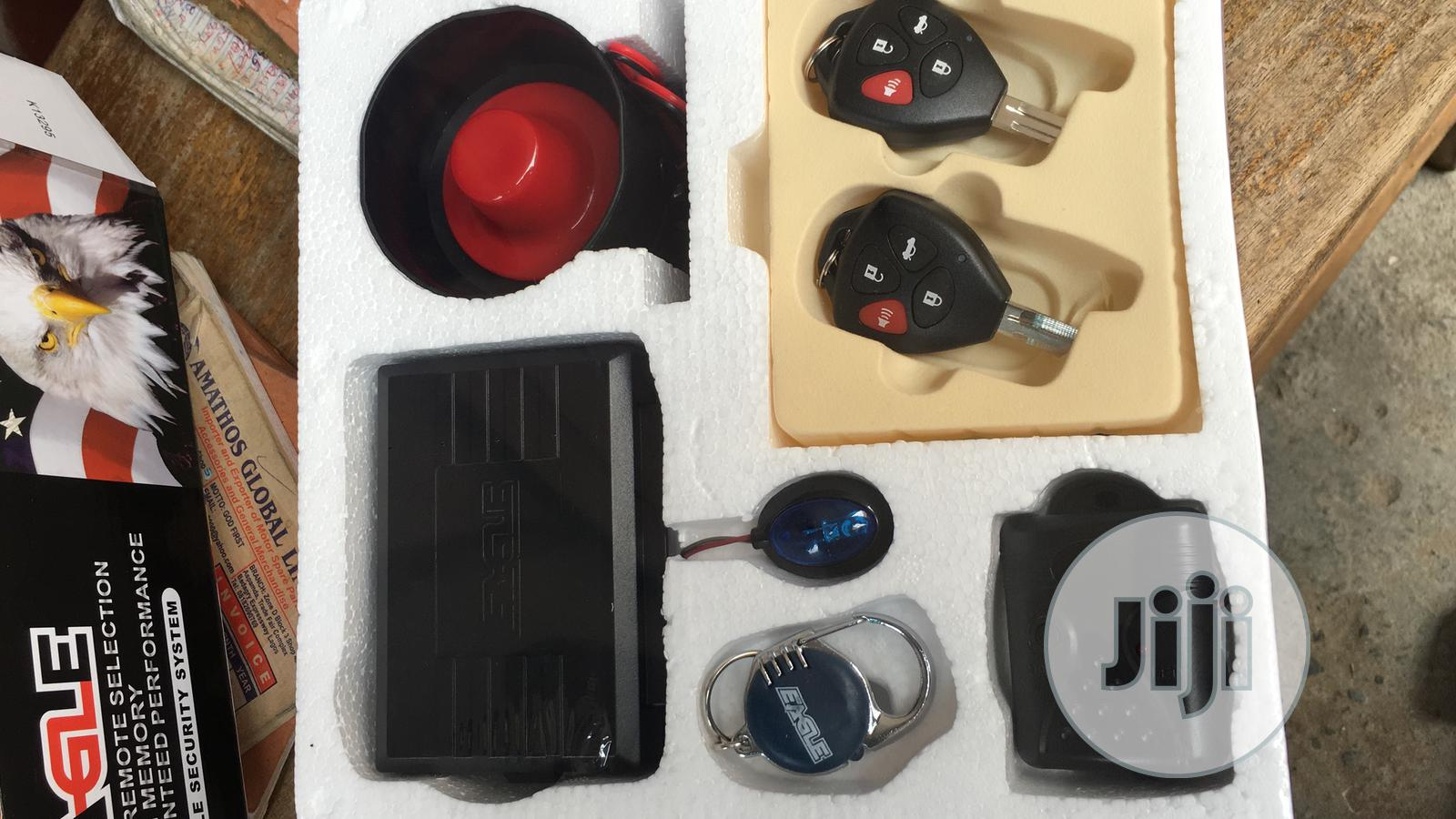 Car Security System And Alarm For Toyota Camry Spider