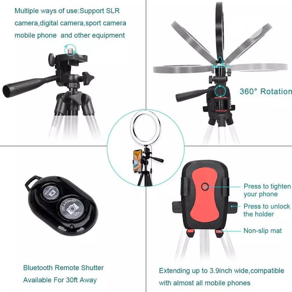 Selfie Ring Lighting Camera Tripod | Accessories & Supplies for Electronics for sale in Ajah, Lagos State, Nigeria