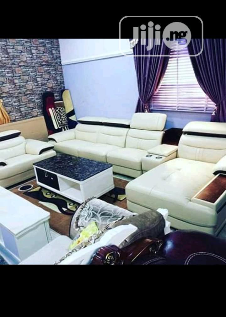 Original Quality Stylish L Shape Imported Leather Sofas