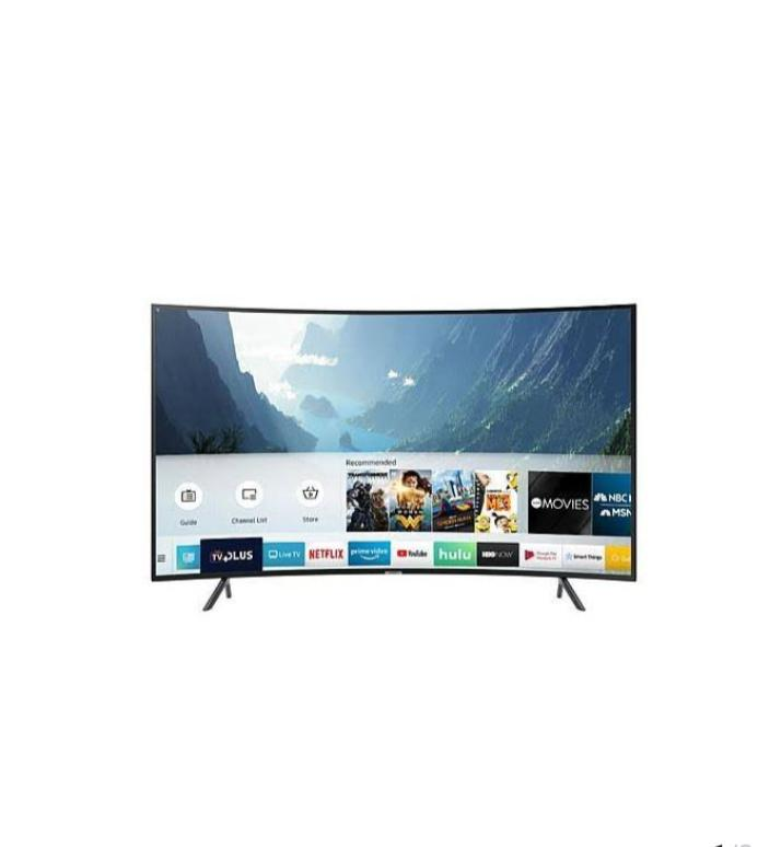 Hisense Smart Curved Led 4K UHD TV 55 Inch | TV & DVD Equipment for sale in Wuse, Abuja (FCT) State, Nigeria