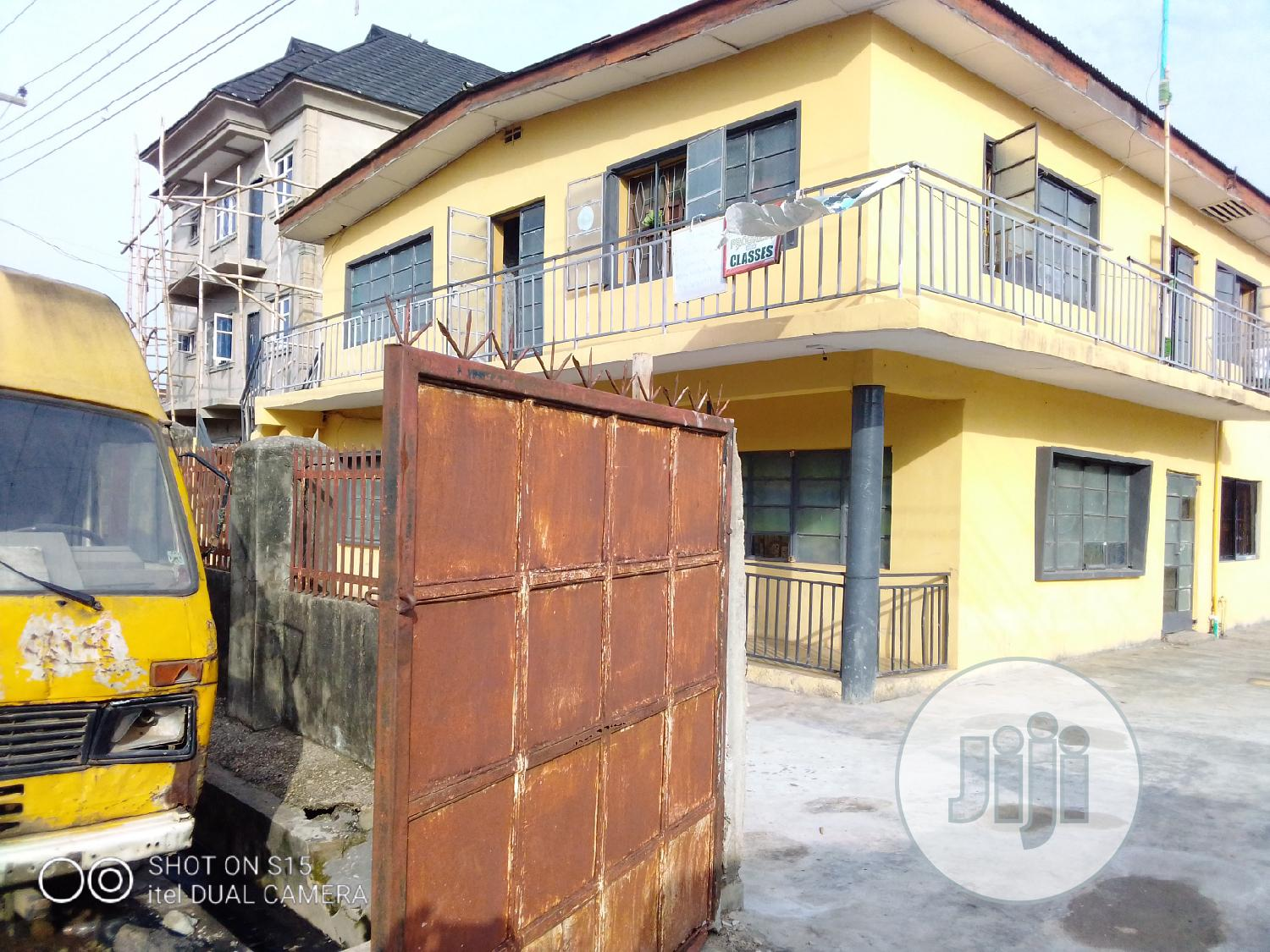 A Bungalow On A One And A Half Plot In Oshodi