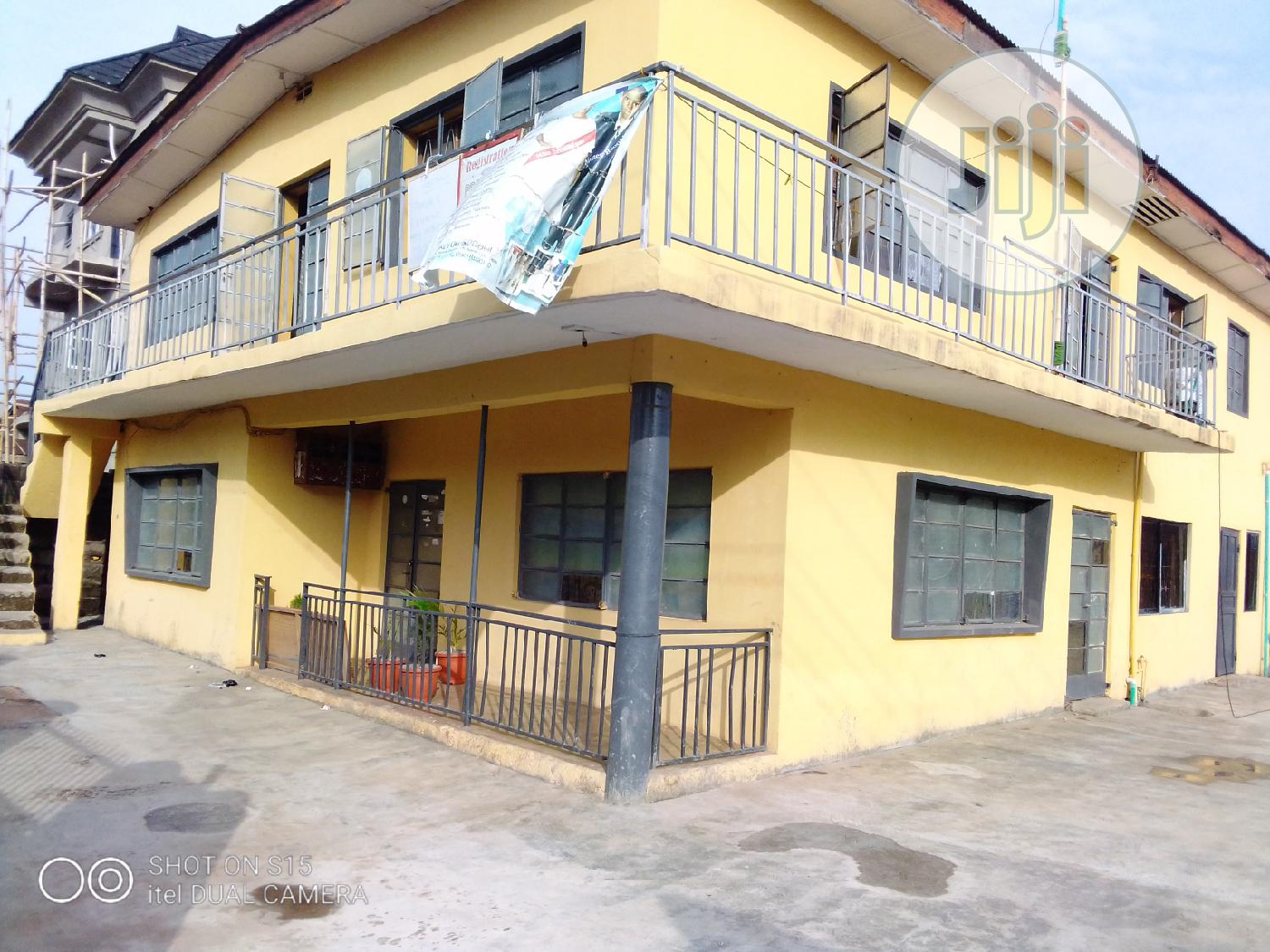 A Bungalow On A One And A Half Plot In Oshodi | Houses & Apartments For Sale for sale in Oshodi, Lagos State, Nigeria