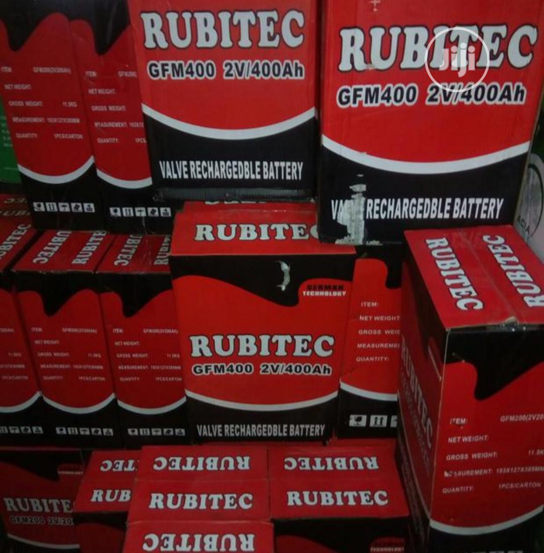 Rubitec 400ah 2v Battery