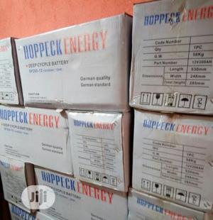 Hoppeck Energy 200ah 12v Battery | Solar Energy for sale in Lagos State, Ojo