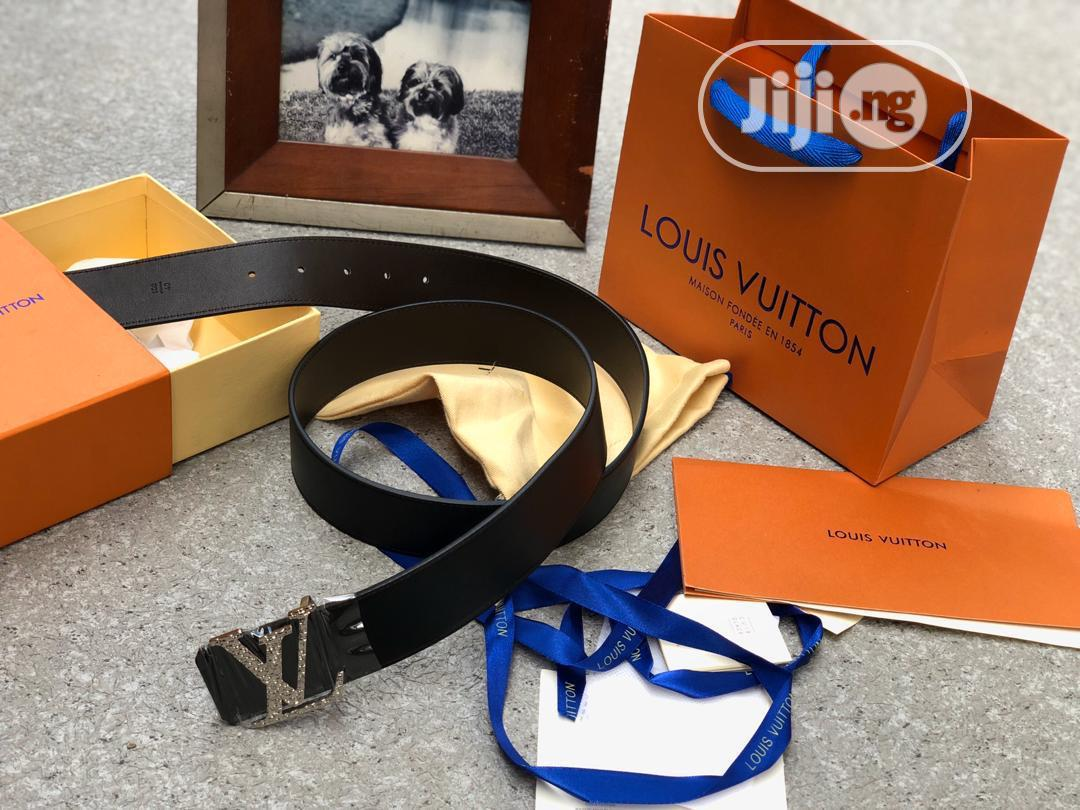 Louis Vuitton Belt Black