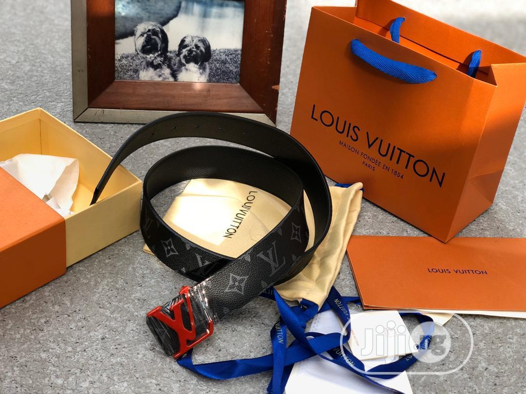 Louis Vuitton Belt Black | Clothing Accessories for sale in Surulere, Lagos State, Nigeria
