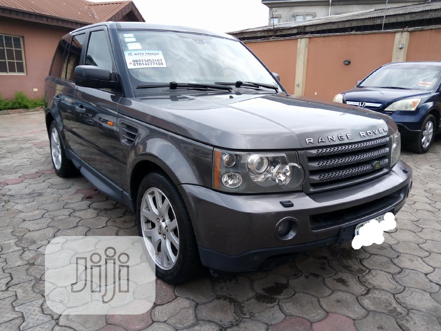 Land Rover Range Rover Sport 2007 HSE 4x4 (4.4L 8cyl 6A) Gray