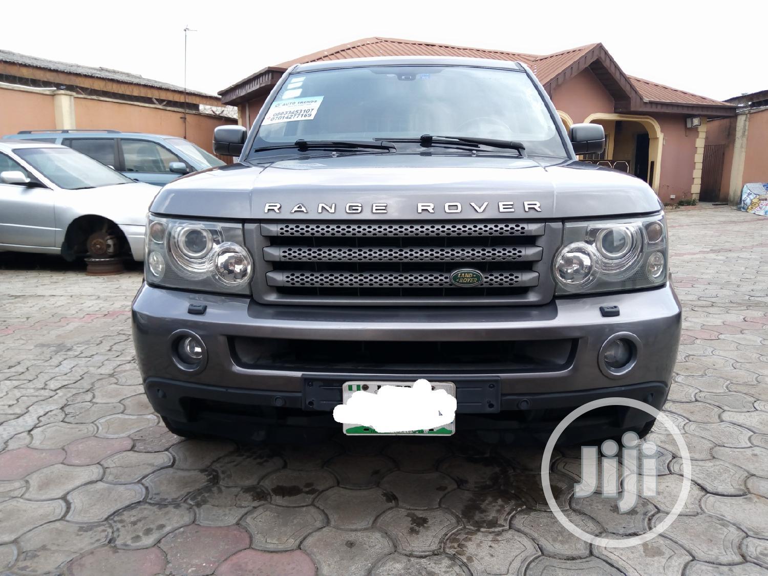 Land Rover Range Rover Sport 2007 HSE 4x4 (4.4L 8cyl 6A) Gray   Cars for sale in Alimosho, Lagos State, Nigeria