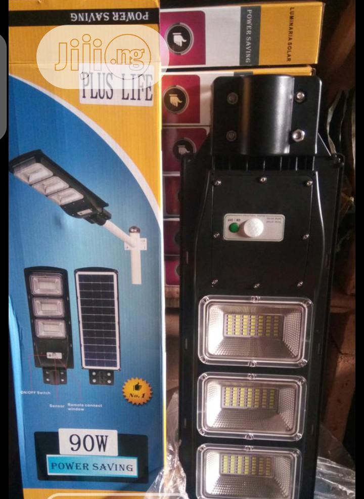 90watt All In One Solar Street Light | Solar Energy for sale in Ojo, Lagos State, Nigeria