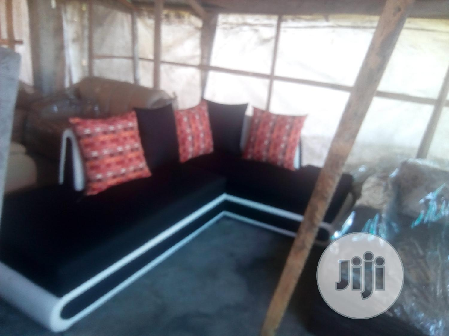 L Shaped Chair With Back Rest | Furniture for sale in Ajah, Lagos State, Nigeria