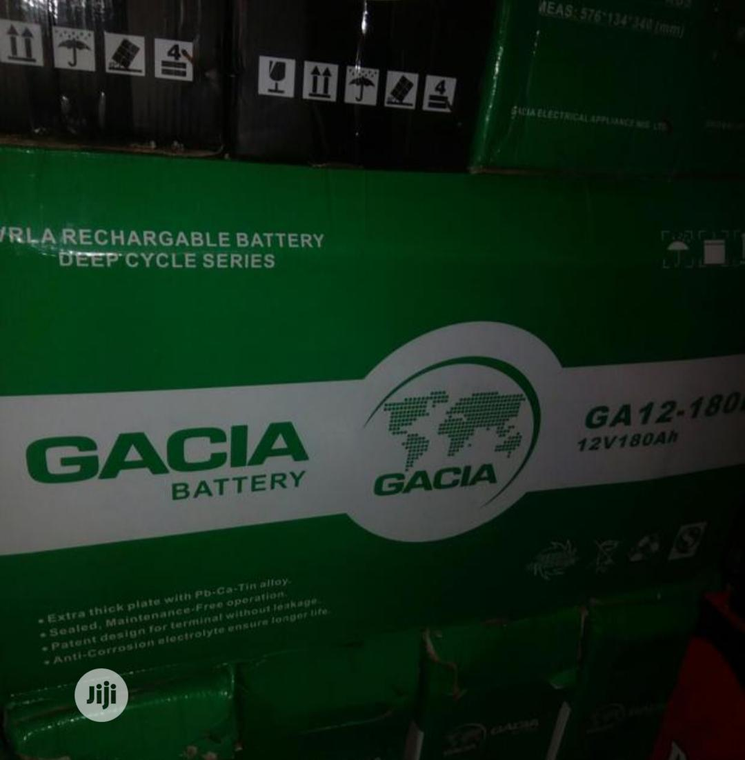 Garcia 180ah 12v Battery