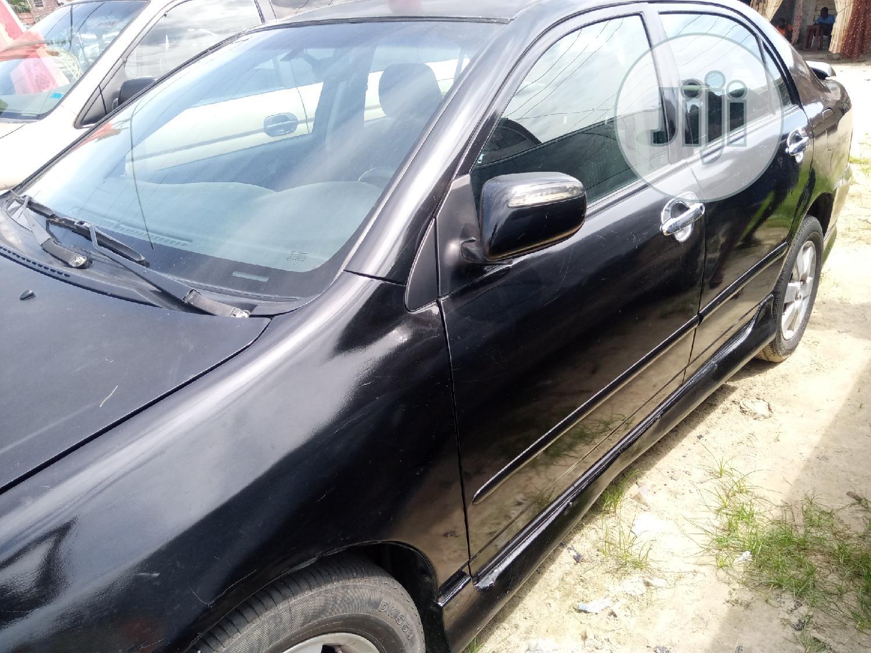 Toyota Corolla 2006 S Black in Warri - Cars, Okas Williams ...