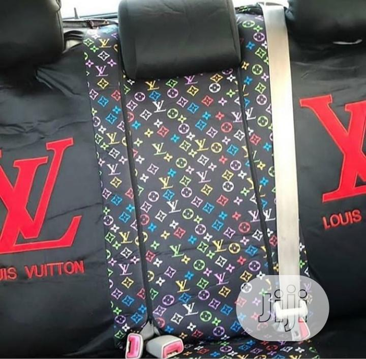 LV Velvet Seat Cover | Vehicle Parts & Accessories for sale in Kosofe, Lagos State, Nigeria