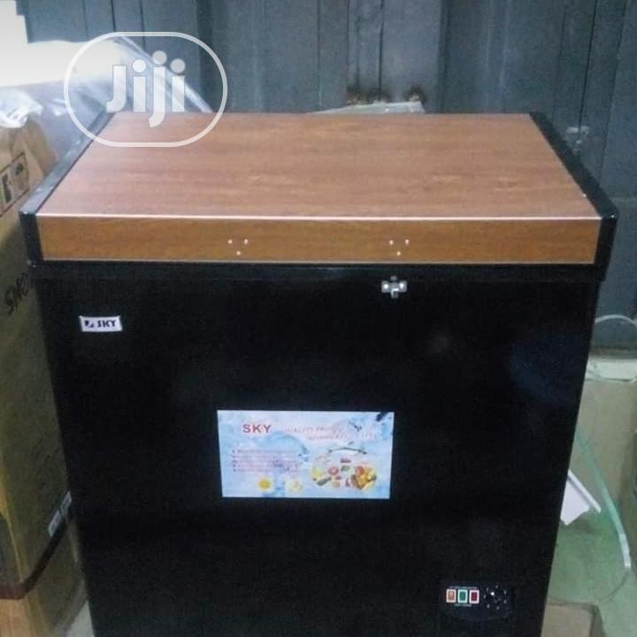 Sky Deep Freezer Sky Deep Freezer 200l Simply The Best 1year Warranty | Kitchen Appliances for sale in Ojo, Lagos State, Nigeria