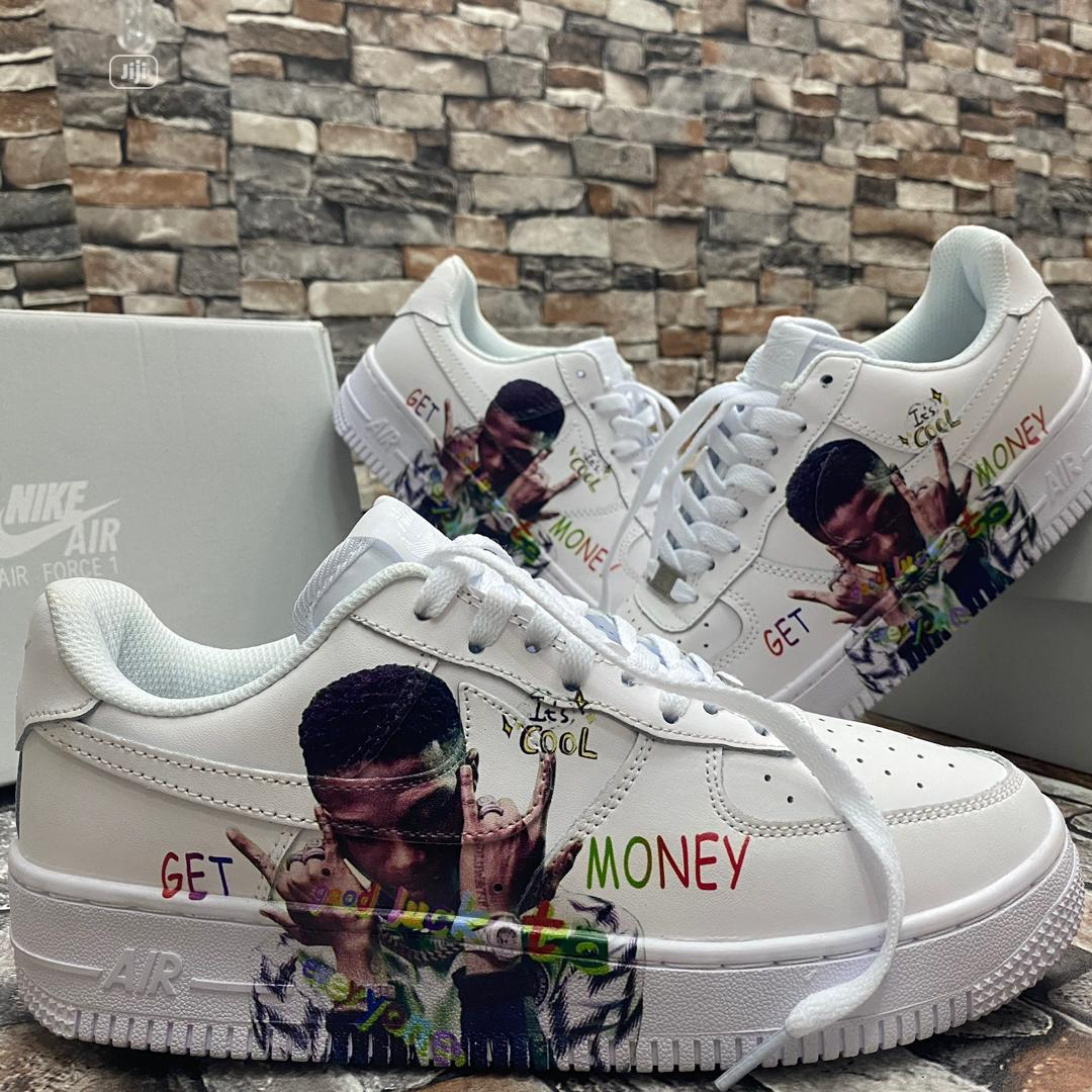 Wizkid Custom Air Force 1 | Shoes for sale in Agboyi/Ketu, Lagos State, Nigeria
