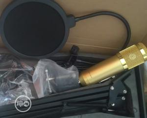 Complete Set of STUDIO MIC With Stand, Pop Filter, Fom, Holder Cable | Accessories & Supplies for Electronics for sale in Lagos State, Mushin