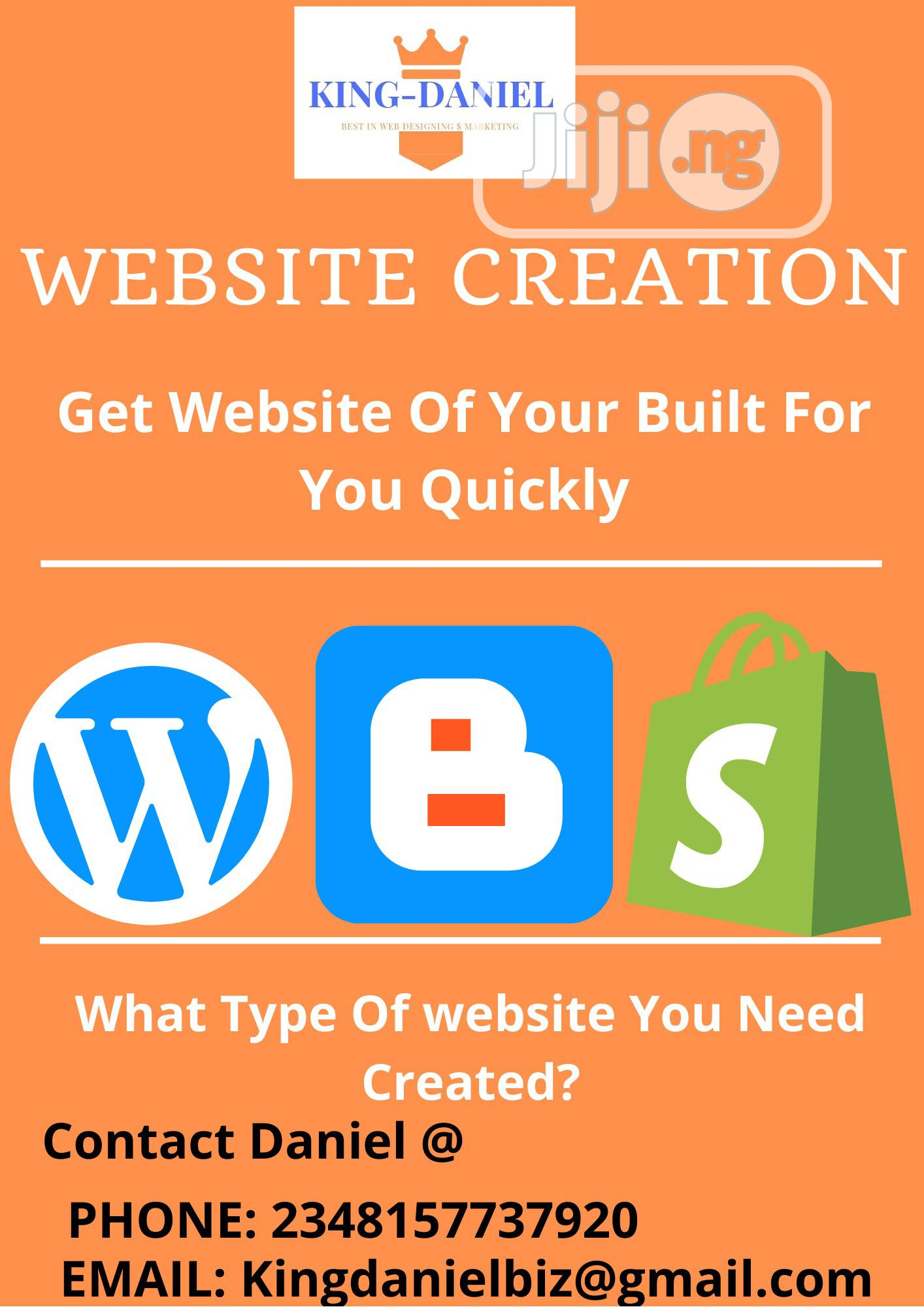 Get Wordpress Website Built for Your Choice