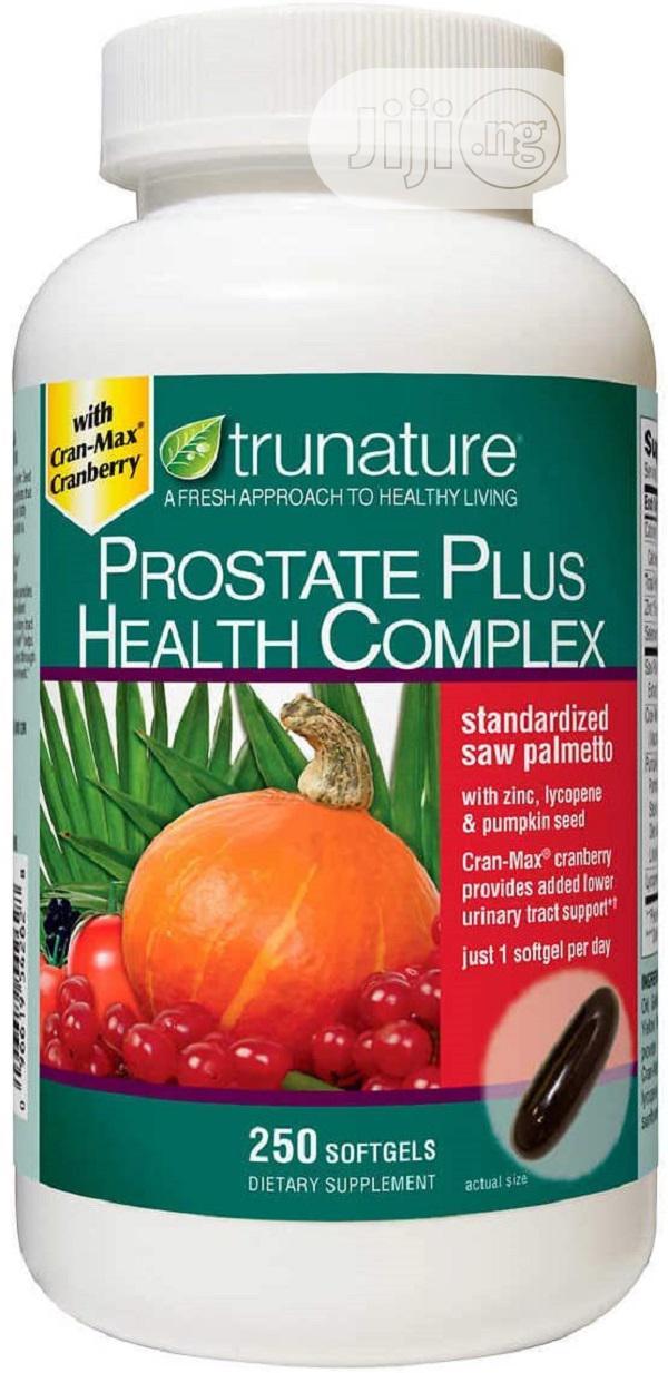 Trunature Prostate Plus Health Complex - Saw Palmetto With Zinc, Lycop