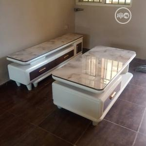 New Design Tv Stand With Table   Furniture for sale in Lagos State, Ikorodu