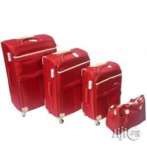 Handbag Nylon Soft Spinner Trolley Set | Bags for sale in Lagos State