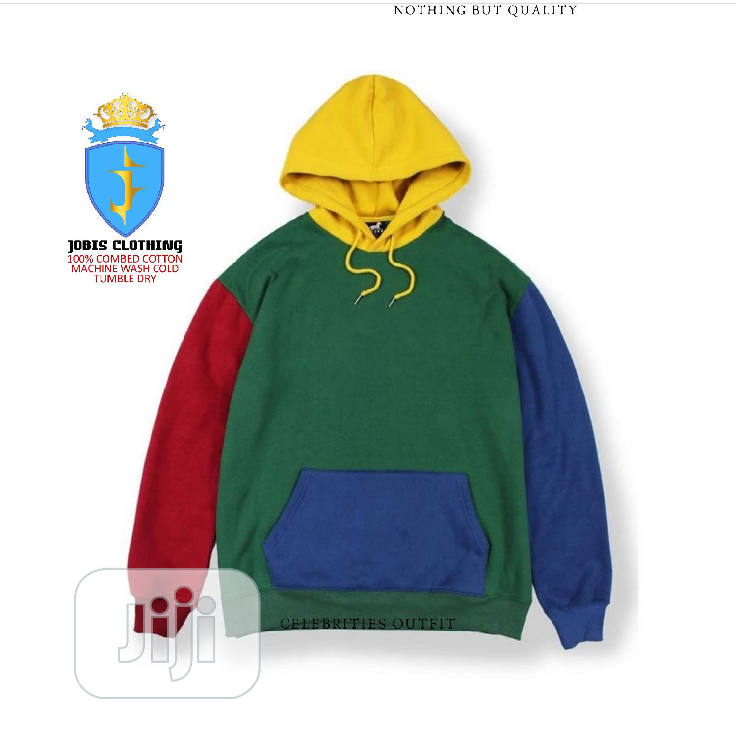 Multicolored Cotton Hoodie