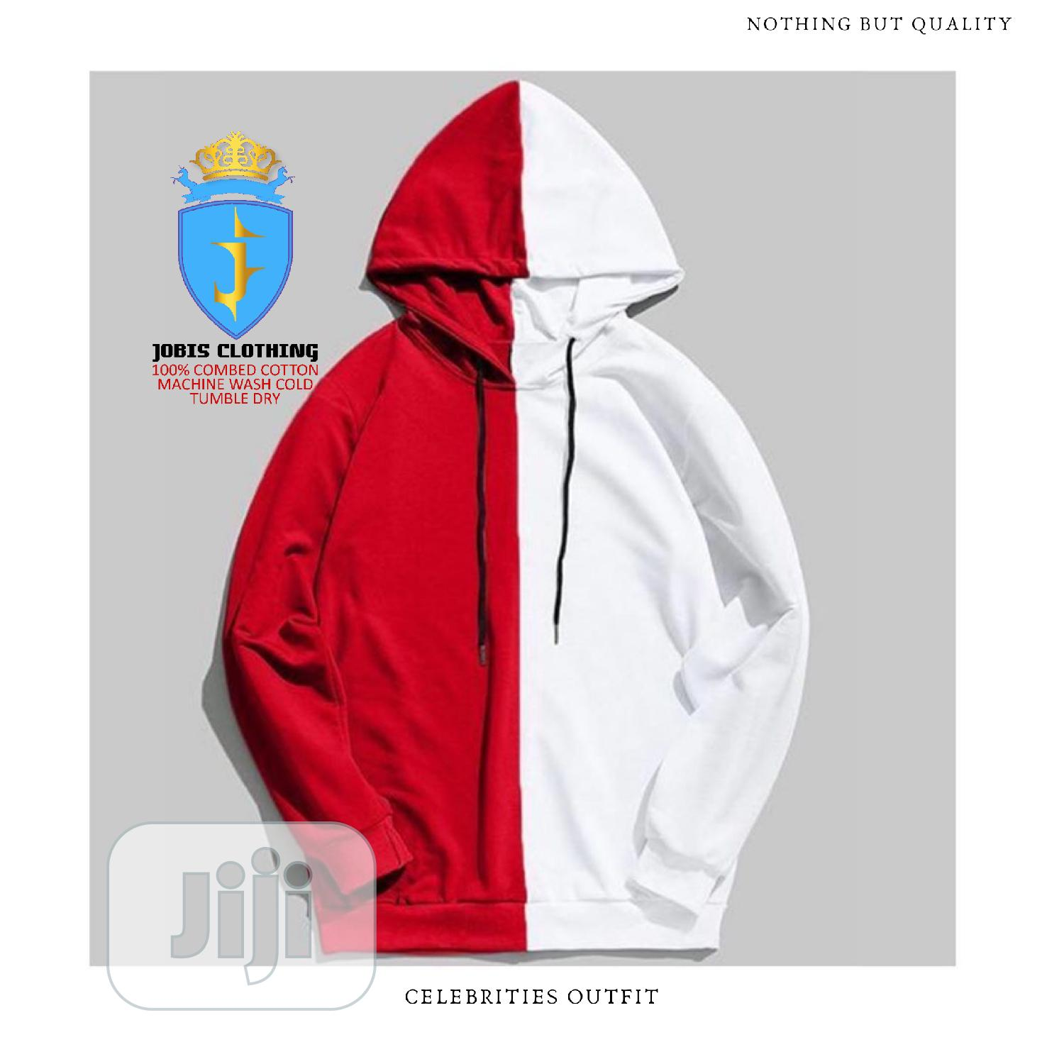 Multicolored Cotton Hoodie   Clothing for sale in Lagos Island, Lagos State, Nigeria