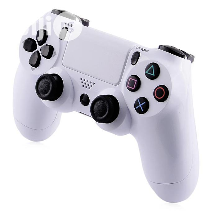 Sony Ps4 Game Pad Dual Shock 4 Wireless Controller-White